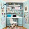 Una novedosa idea: instalar una oficina en el armario
