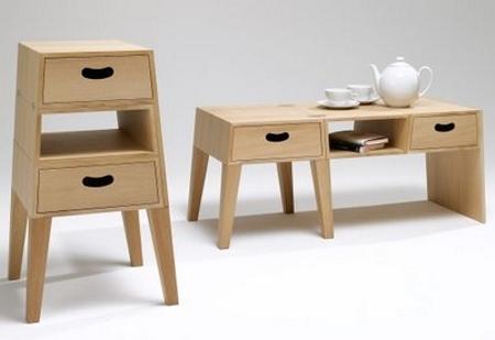 Mesa cajonera decoraci n e interiorismo for Generando diseno muebles