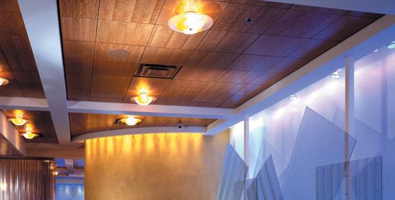 Cielorrasos de madera decoraci n e interiorismo for Cielos rasos modernos