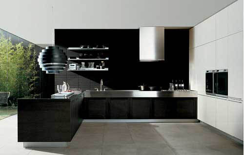 Estilo minimalista en cocinas decoraci n e interiorismo for Kitchen set aluminium modern