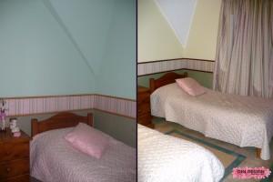 Antes y después de dormitorio