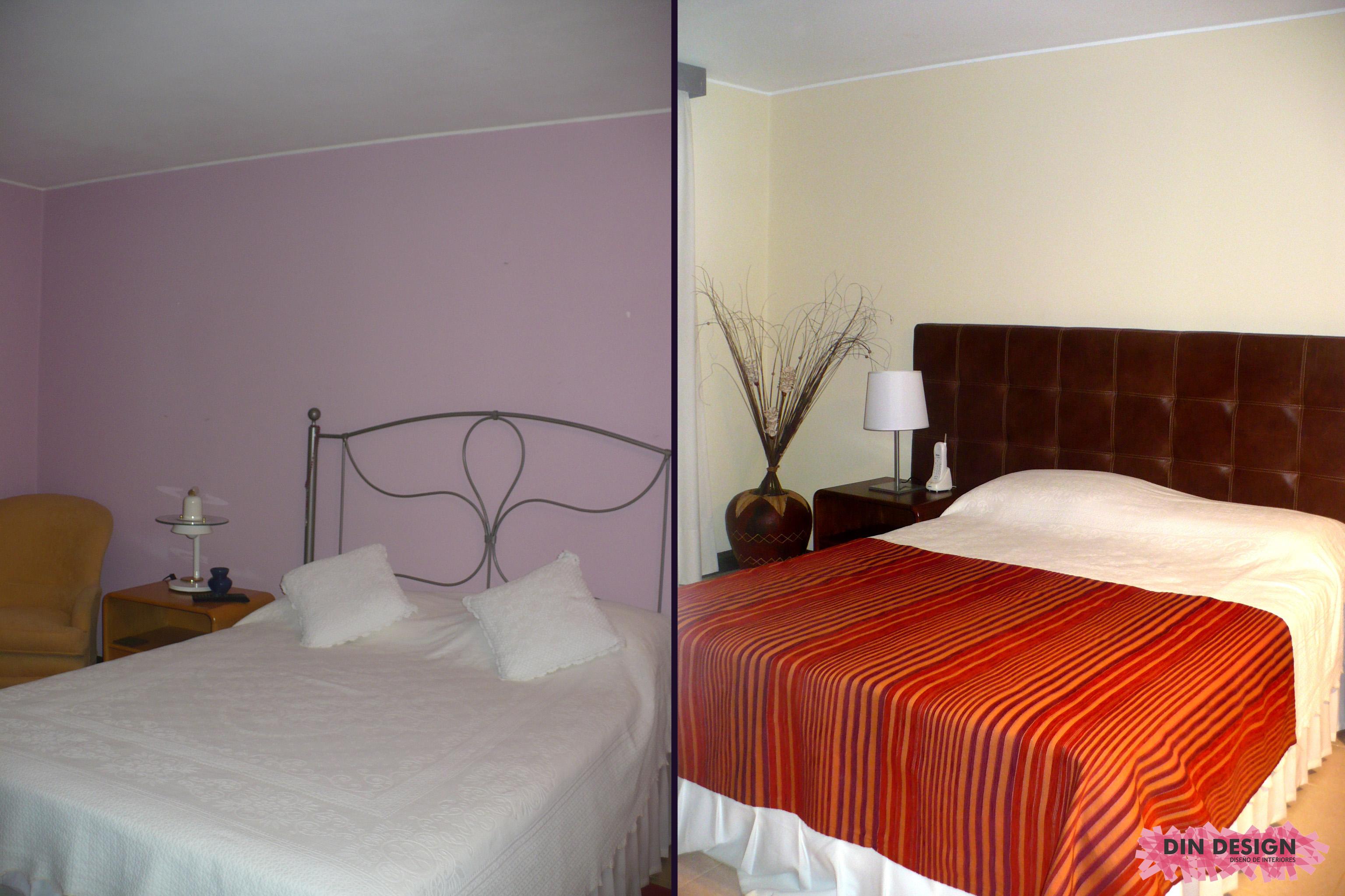 Grandes cambios con estudiadas intervenciones decoraci n for Dormitorio invitados