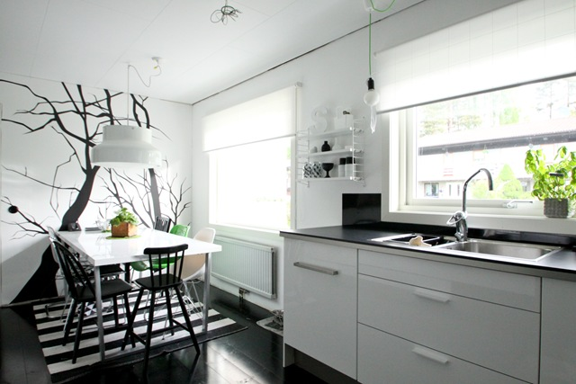 Cocinas En Blanco Y Negro Of Kitchens In Black And White An Attractive Alternative