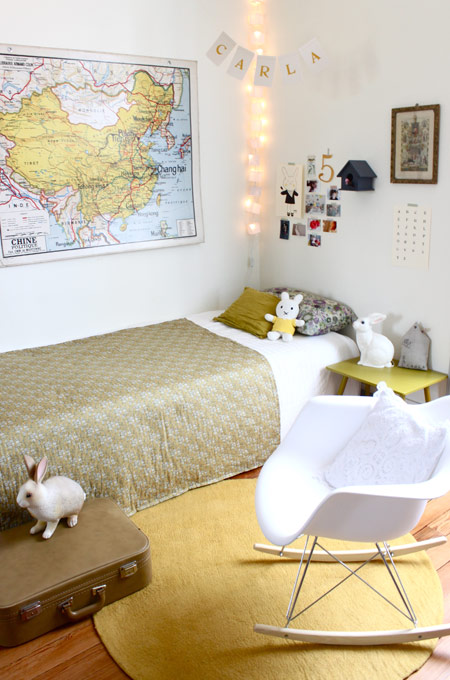 Dormitorios estilo retro decoraci n e interiorismo - Dormitorio retro ...