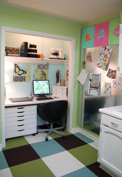 Buscando lugar para la oficina en casa