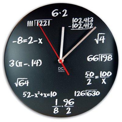 Reloj de Ecuaciones