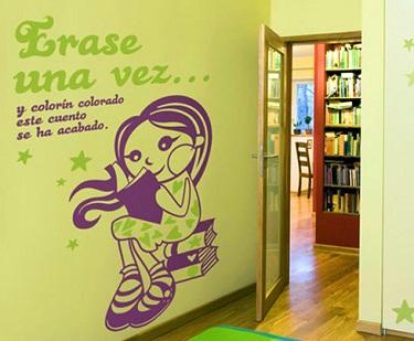 Vinilos decorativos para dormitorios infantiles for Decoracion de vinilos para dormitorios