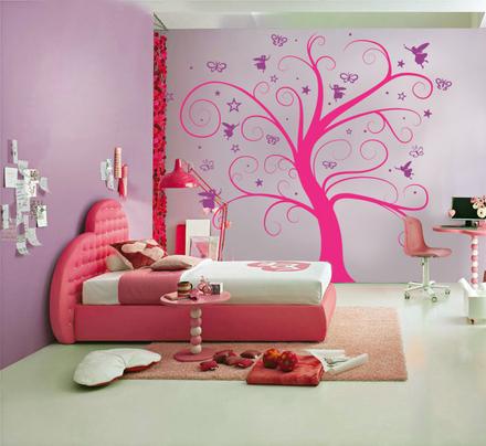 Vinilos decorativos para dormitorios infantiles for Decoracion de cuartos infantiles