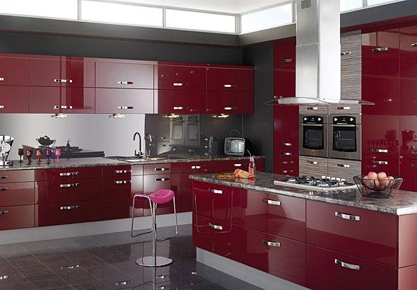 Moderno armario para cocina