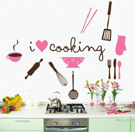 Revestimientos de paredes para la cocina decoraci n e - Vinilo para la cocina ...