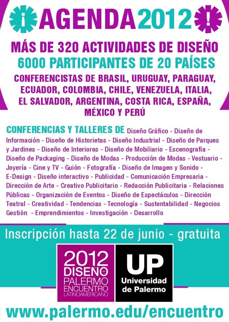 ELD 2012 - Agenda de Actividades