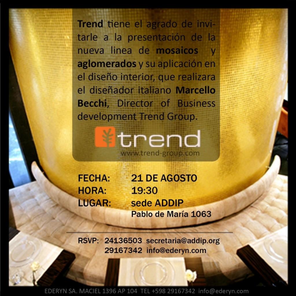Charla Trend en ADDIP