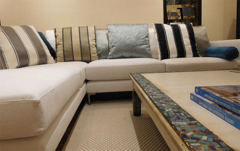 Sofa y Mesa de centro - Fiorenza Emme