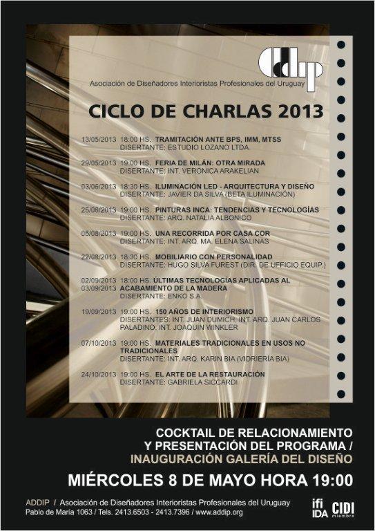 Afiche programa anual 2013 decoraci n e interiorismo for Programa interiorismo