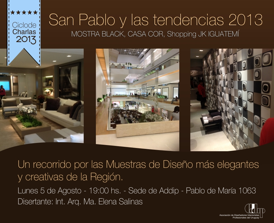 Tendencias San Pablo 2013 en ADDIP