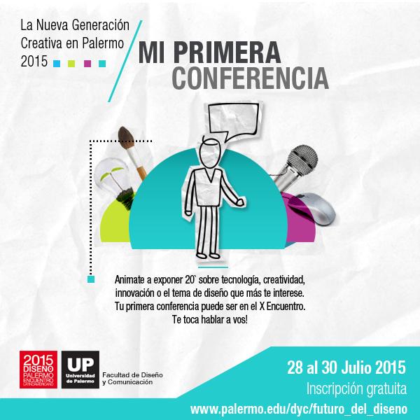 Mi Primera Conferencia - ELD 2015
