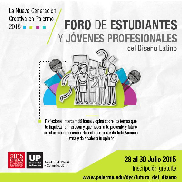 Foro de Estudiantes y Jóvenes Profesionales - ELD 2015