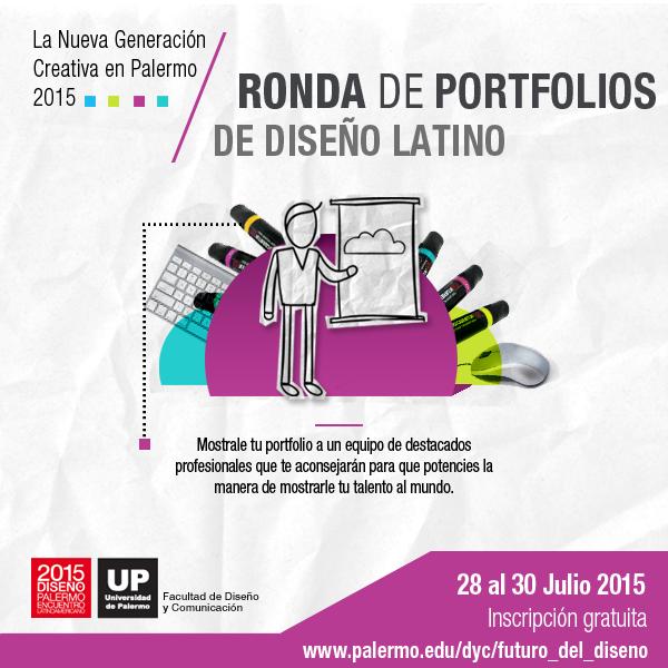 Ronda de Portfolios de Diseño Latino - ELD 2015