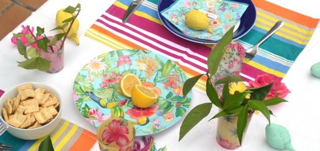 Decora tu mesa con colores